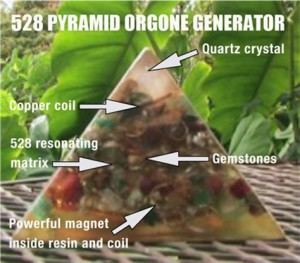 528 Pyramid Orgone Generators
